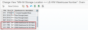 Warehouse Number assignment in EWM-S/4 HANA